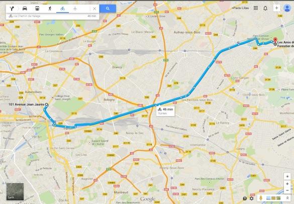 30 kilomètres aller-retour effectués par les élèves !